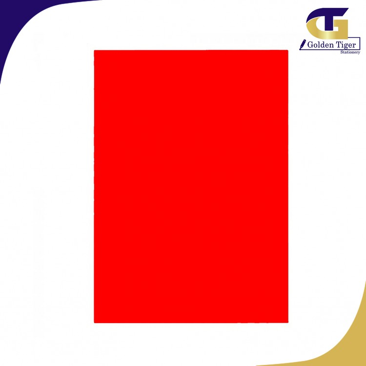SPECIAL Color Paper 250 RED 80g (A4-100sheets) အနီရင့်