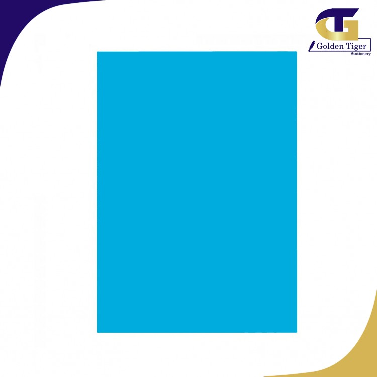 SPECIAL Color Paper 220 TURQUOISE BLUE 80g (A4-100sheets) အပြာရင့်