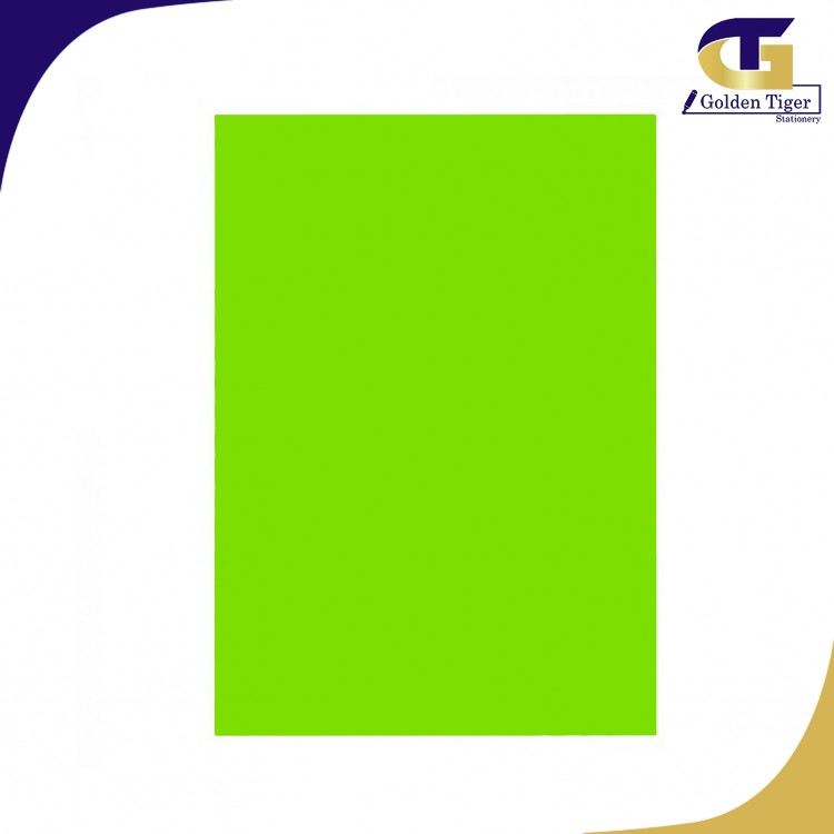SPECIAL Color Paper 321 CYBER HP GREEN 80g (A4-100sheets) မော်ဒယ်စိမ်း